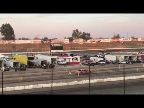 7/21/2017 Black Hills Speedway heat race stands view