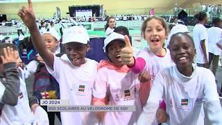 JO 2024 : 850 élèves au Vélodrome de SQY