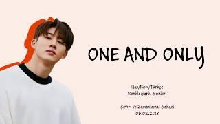 iKON B.I - One and Only (돗대) [RENKLİ ŞARKI SÖZLERİ Han/Rom/Türkçe]