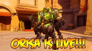 ORISA UPDATE PATCH IS LIVE!!! - OVERWATCH GAMEPLAY