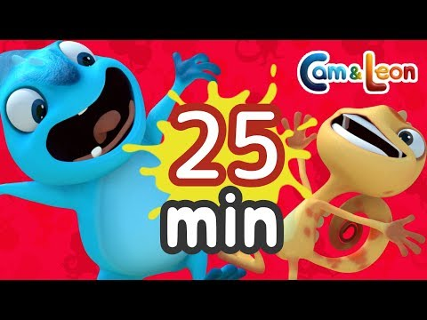 Hilarious Children Cartoon | 25 Minutes Compilation #1 | Cam & Leon