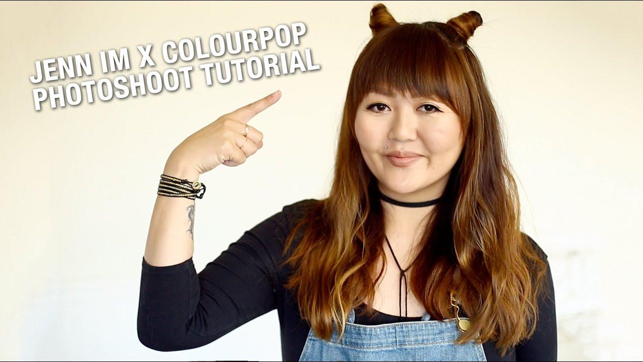 Tutorial Jenn Im X Colourpop Jenn Ne Sais Quoi Meow Buns Youtube