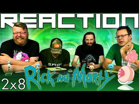 "Thumbnail: Rick and Morty 2x8 REACTION!!""Interdimensional Cable 2: Tempting Fate"""