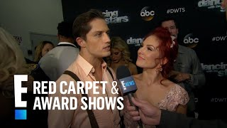 Sharna Burgess & Bonner Bolton Clear Up Romance Rumors | E! Live from the Red Carpet