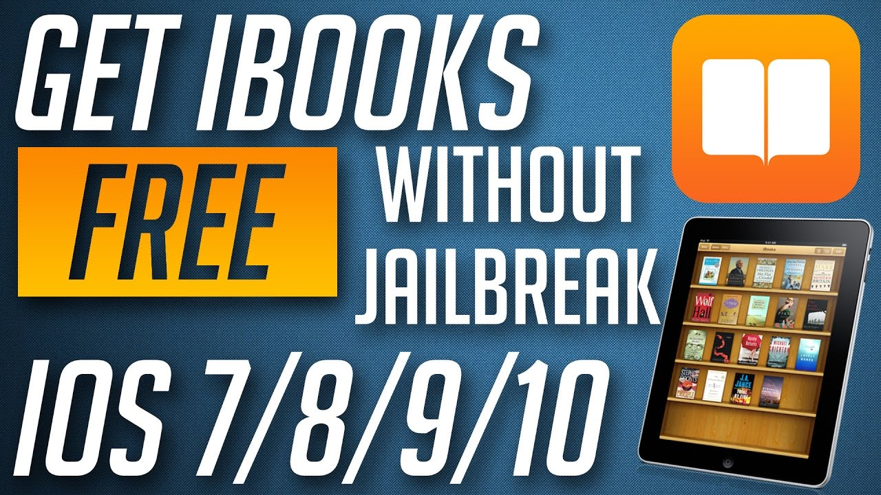 How To Download Free Ibooks On Iphone Ipad Ipod Touch No Jailbreak Youtube