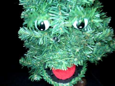 Douglas Fir The Talking Christmas Tree Animated Sing
