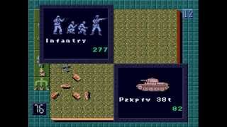 Operation Europe: Path to Victory 1939-45 ... (Sega Genesis)