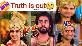 Karnan vs Arjunan and Krishna vs Vithuran untold mystery     tamil    mahabharatham    vijay tv