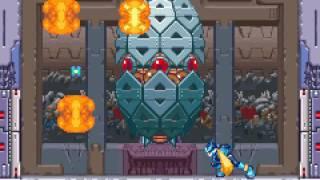 Mega Man Zero 3 - megaman zero 3 devilbat abandoned factory mission - User video