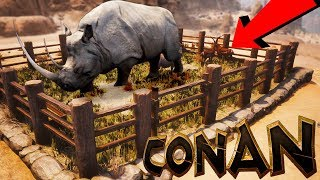 Conan Exiles - YOU CAN FINALLY TAME & CAGE CREATURES! HUGE Mod Update - Conan Exiles Gameplay
