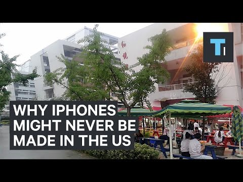 Why iPhones might never be made in the United States Mp3