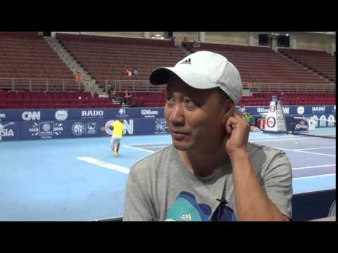 MICHAEL CHANG - FAMILY MAN, PLAYER, COACH...