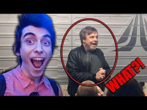 Mark Hamill on Star Tours?! - Villain Vlogs