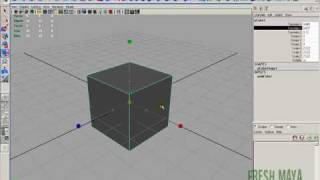 Fresh Maya Tutorial:  Zero To Hero (Episode 0003) Rotate, Scale and Move