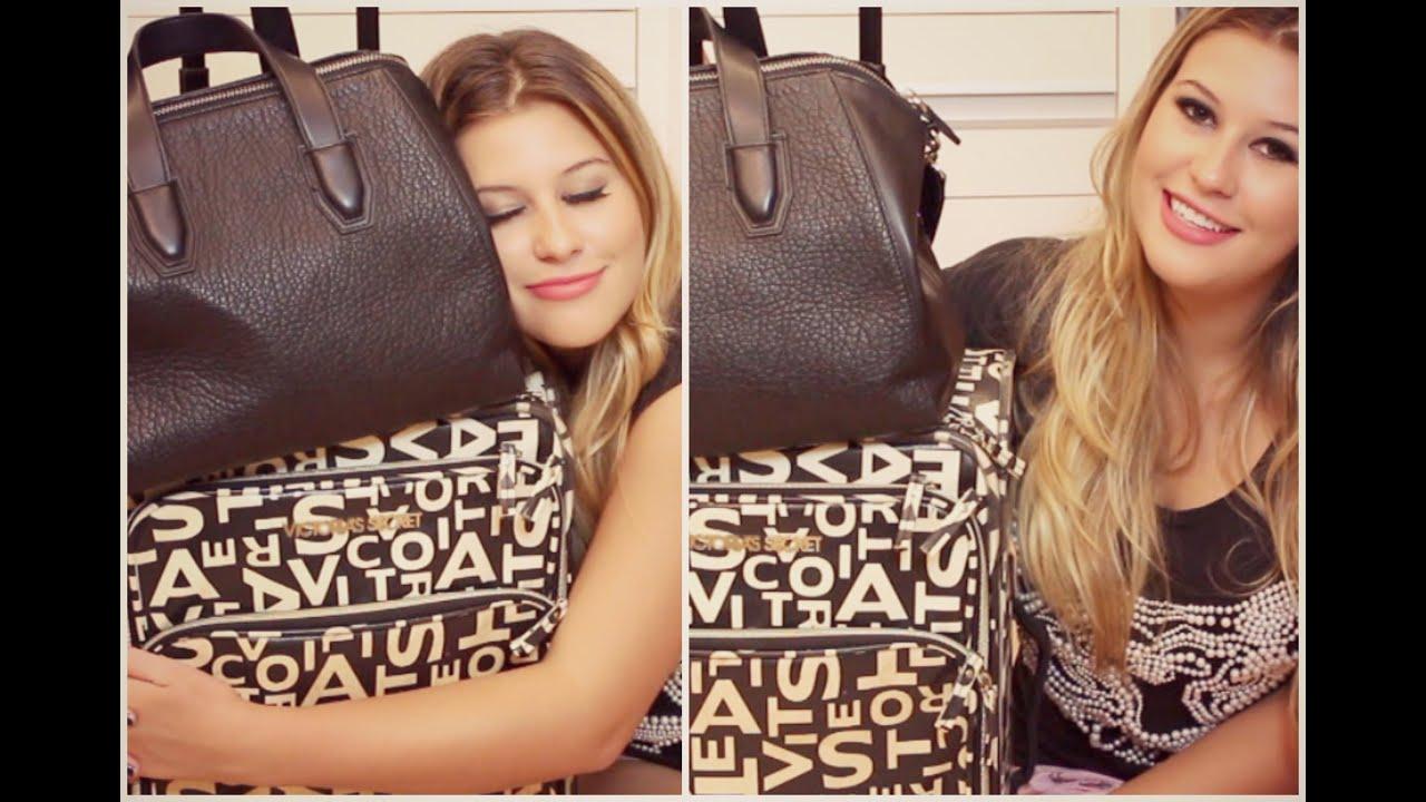 Bolsa De Mão Viagem Internacional : O que tem na minha mala de m?o bolsa viagem
