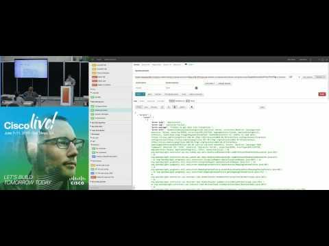 DEVNET 2005 - Using the Cisco Open SDN Controller RESTCONF APIs