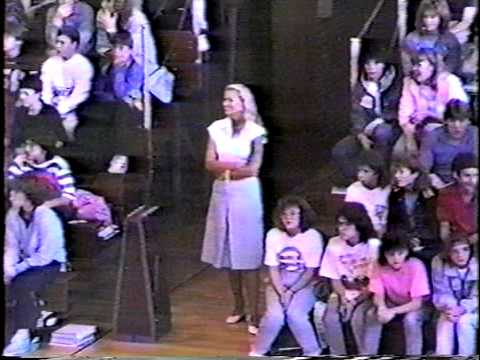 1987 Pep Assembly Beaver Area Jr Sr High School Beaver Pa The