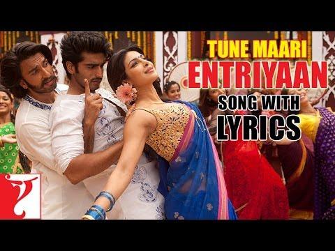Lyrical: Tune Maari Entriyaan Song with Lyrics | Gunday | Ranveer | Arjun Kapoor | Irshad Kamil