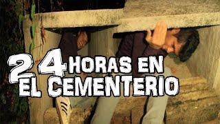 24 HORAS EN EL CEMENTERIO ( DENTRO DE UNA TUMBA ) thumbnail