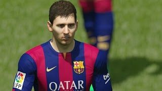 FIFA 15 Demo Gameplay PC #2 FC Barcelona - Chelsea F.C.