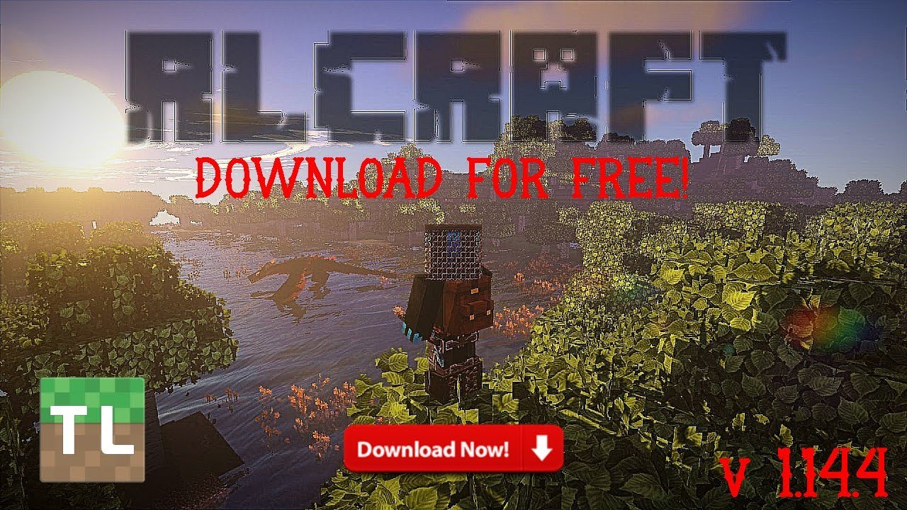 Download RLCraft For MINECRAFT   Tlauncher   MODS   v1.14.4   2019 - YouTube