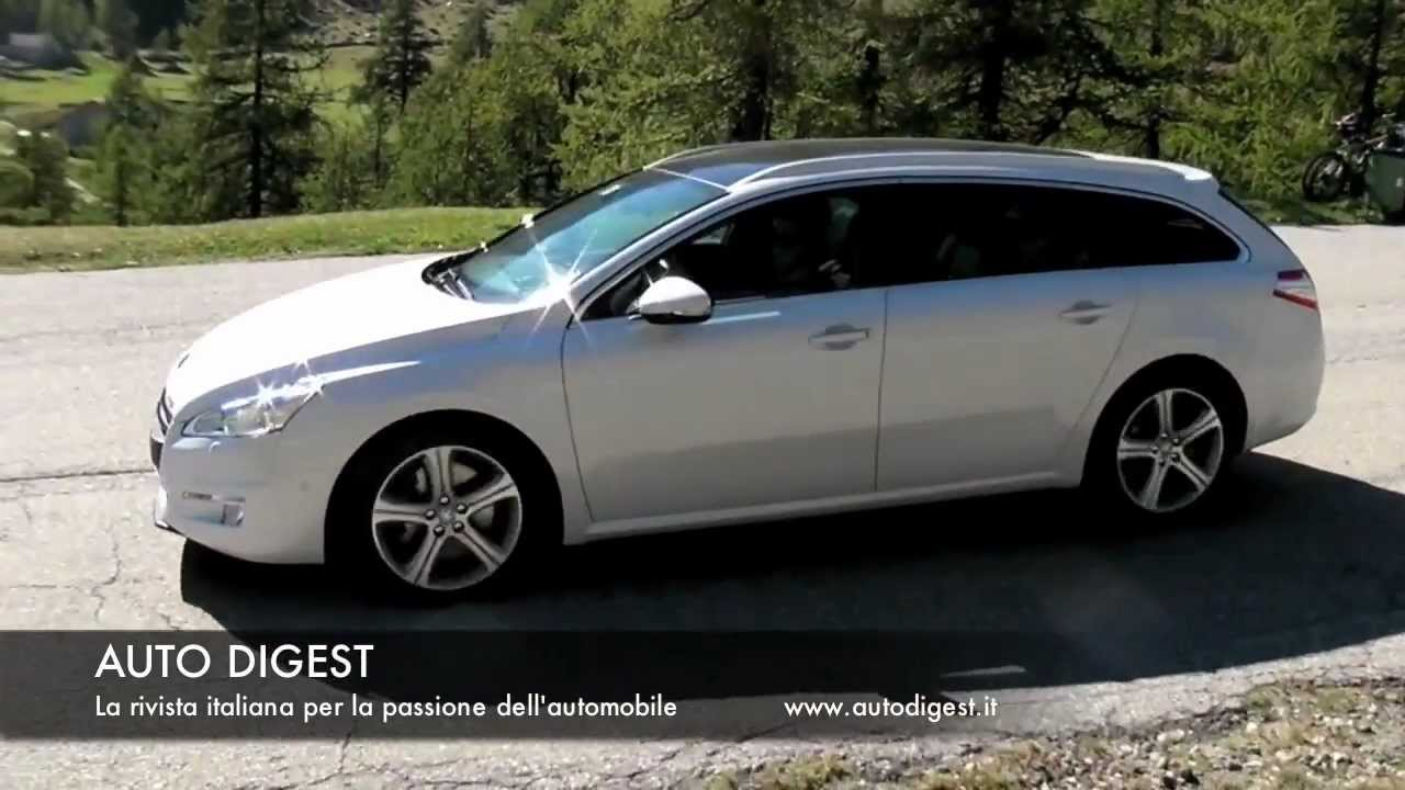 peugeot 508 sw gt test drive youtube. Black Bedroom Furniture Sets. Home Design Ideas