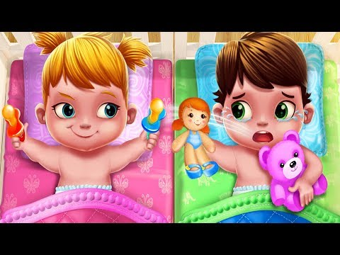 Fun Baby Care Kids Games - Baby Twins Babysitter - Newborn Adorable Twins Care Baby Games For Kids