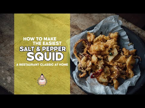 The Easiest Salt & Pepper Squid | 5-Minute Recipe | Easy Asian Home Cooking