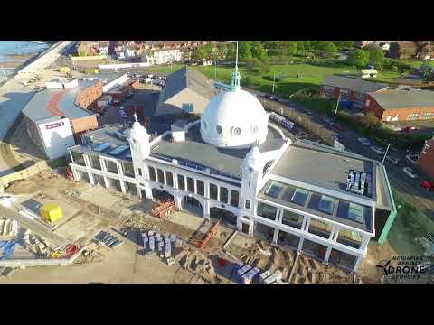 Drone Footage of Spanish City Dome, Whitley Bay