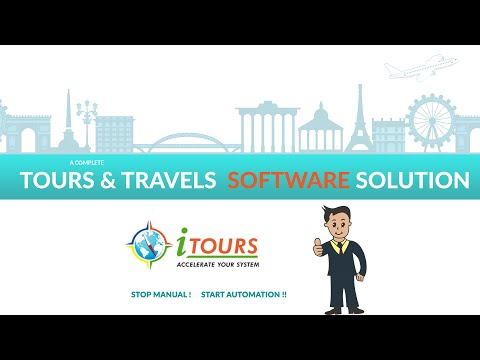 iTours # Complete CRM, Accounting Tours & Travels Operator Software for Tour Agency