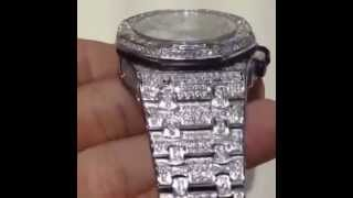 Audemar piguet real diamond watch fully flooded custom by m(, 2014-06-09T15:50:38.000Z)