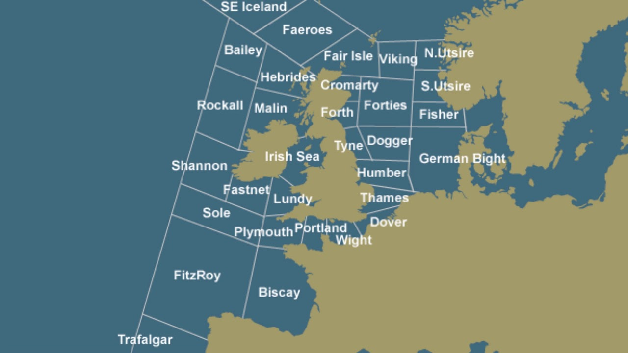 The Shipping Forecast - 99% Invisible