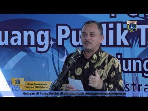 20 Sept 2016 Gub Basuki T. Purnama Meresmikan RPTRA Tanjung Elang Berseri (CSR PT. Astra Int, Tbk)