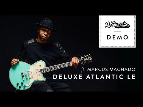 Deluxe Atlantic LE with Marcus Machado   D'Angelico Guitars