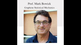 NSCS Online Seminar - Prof. Mark Bowick