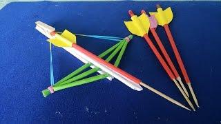 Cara membuat panah dan panah menggunakan kertas