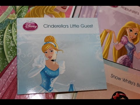 Disney Princess Enchanting Story Pack Prt 1. Cinderella, Tiana!!