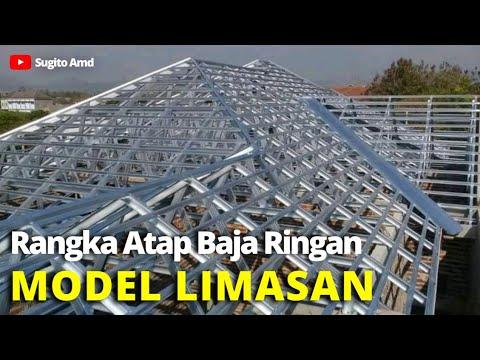 Rangka Atap Baja Ringan Model Limas Jurai Banten
