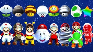 Super Mario Galaxy 2 - All Power-Ups