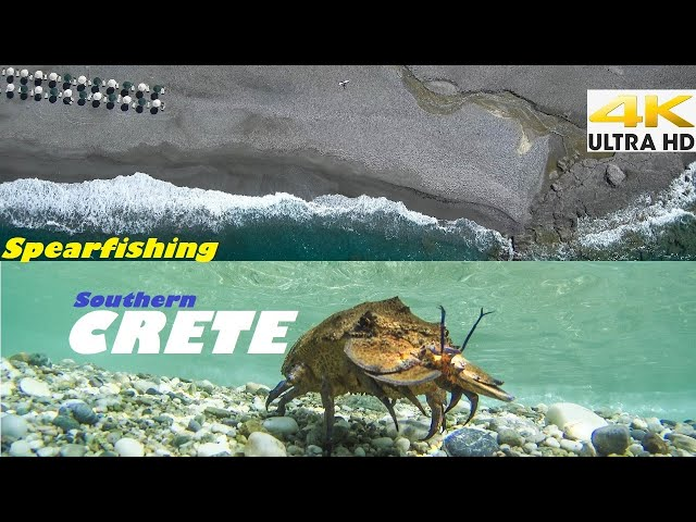 Spearfishing 🇬🇷 | The Seductive South CRETE🌊CATCH and COOK🔥Red Mullet-Slipper Lobster Spaghetti✅