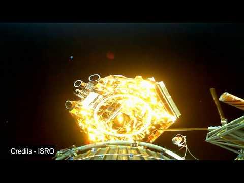 ISRO PSLV C38 Satellite seperation in HD