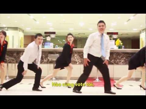 Sacombank HCM - Gangnam Style Cover - Mr. Tiến Đạt Style