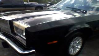 1987 Dodge Diplomat 5.2L Quick Tour, Start Up & Rev - 67K