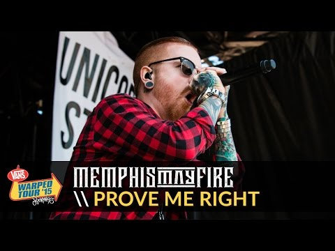 Memphis May Fire - Prove Me Right (Live 2015 Vans Warped Tour)