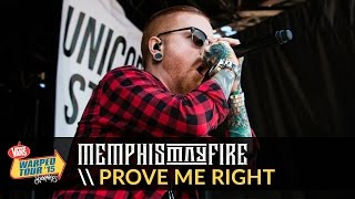 Memphis May Fire - Prove Me Right (Live 2015 Vans Warped Tour)(Memphis May Fire performing
