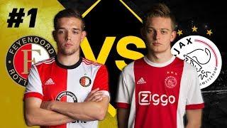 #FEYAJA | Jaey Daalhuisen vs Dani Hagebeuk | Speelronde 1 | PS4 | eDivisie