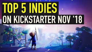 Top 5 Indie Games on Kickstarter - November 2018