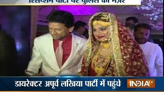 Watch Dawood Ibrahim Niece's Lavish Wedding Reception in Mumbai - India TV