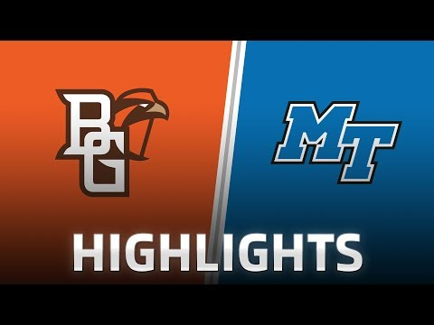 Highlights: Bowling Green at Middle Tennessee