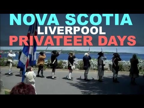 Privateer Days Liverpool Nova Scotia - Letter of Marque Geocaching Event 2011